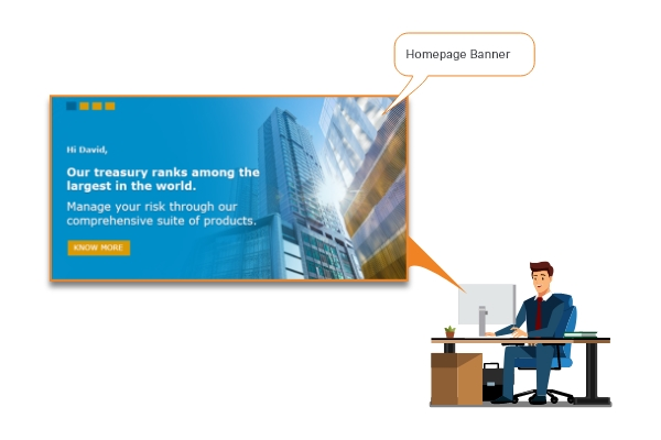 Next Best Experience CDP Use Cases for Commercial Banking: Offline Branch Visit