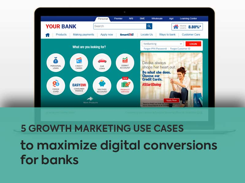 Growth marketing banking use cases